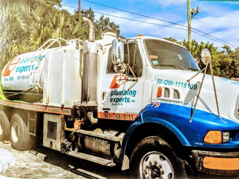 Grease Trap Truck in Palm Beach